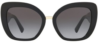 Valentino Butterfly Logo Sunglasses