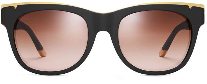Tory Burch Metal-Trim Sunglasses