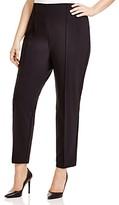 Lafayette 148 New York Plus Pintuck City Pants