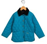 Barbour Boys' Quilted Corduroy-Trimmed Jacket