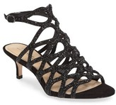 Imagine by Vince Camuto Women's Kami Glitter Cage Sandal