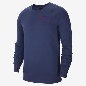 Nike Men's Fleece Long-Sleeve Soccer Crew England