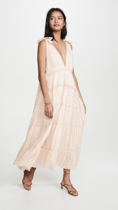 Free People Lily Of The Valley Midi Dress