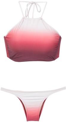 AMIR SLAMA Gradient Bikini Set