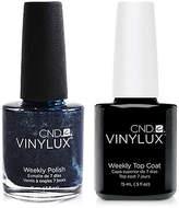 CND Creative Nail Design Vinylux Midnight Swim Nail Polish & Top Coat (Two Items), 0.5-oz, from Purebeauty Salon & Spa