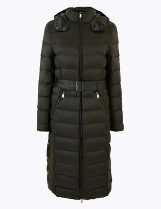 Marks and Spencer Feather & Down Belted Coat