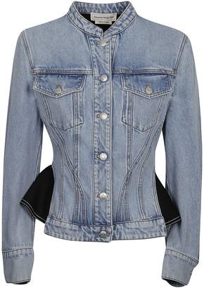 Alexander McQueen Regular-fit Denim Jacket