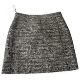Balenciaga Ecru Tweed Skirt