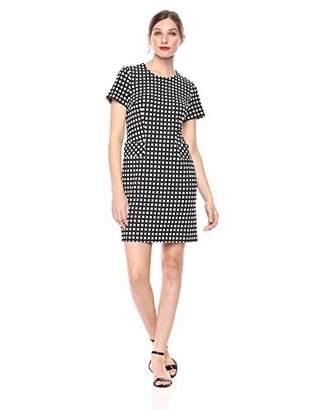 Calvin Klein Women's Short Sleeves Shift Dress