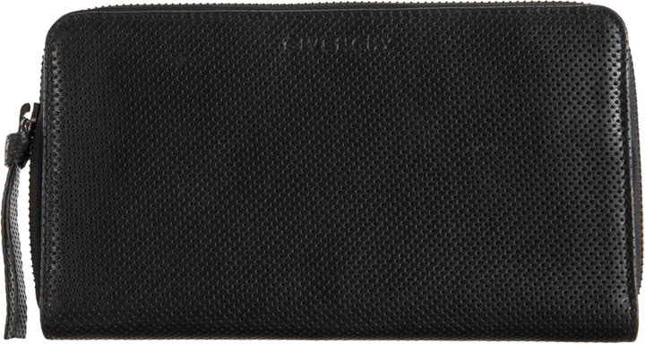 Givenchy Perforated Zip Around Wallet