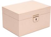 Wolf Palermo Small Jewelry Box, Blush