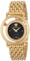 Versace Women's VDA040014 Venus Analog Display Quartz Gold-Tone Watch