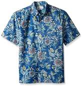 Reyn Spooner Men's Corsica Classic Fit Button Fron Hawaiian Shirt
