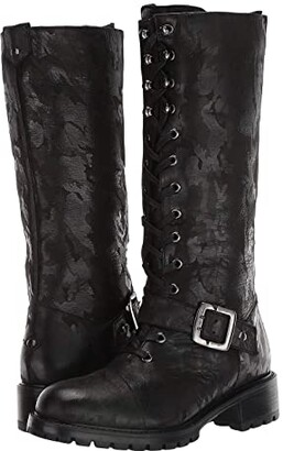 Ross & Snow Lorinda Supreen Boot (Black Camo) Women's Boots