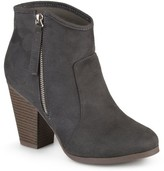 Brinley Co. Women's Faux Suede High Heel Ankle Boots