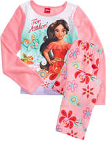 Disney Disney's Princess Elena of Avalor 2-Pc. Pajama Set, Little Girls & Big Girls