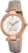 Folli Follie Santorini Flower mother-of-pearl and leather watch