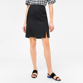 Paul Smith Women's Black Wool Skirt