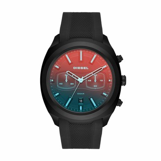 Diesel Men's Tumbler Quartz Silicone Chronograph Watch