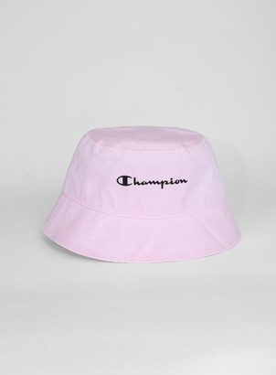 Topman CHAMPION Pink Bucket Hat