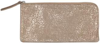 M&Co Foil animal print leather purse