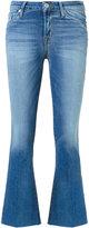 Hudson 'Carve' cropped jeans