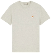 MAISON KITSUNÉ Embroidered Fox Patch Short Sleeve Tee