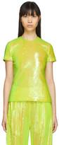 MM6 MAISON MARGIELA Yellow Sequin Blouse