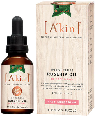 Akin A'kin Weightless Rosehip Oil 45ml