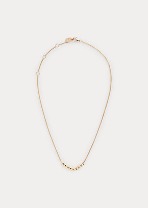 Ralph Lauren Gold-Finished Beaded Necklace