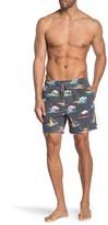 Dinosaur Printed Board Shorts
