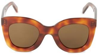 Celine 47MM Geometric Sunglasses
