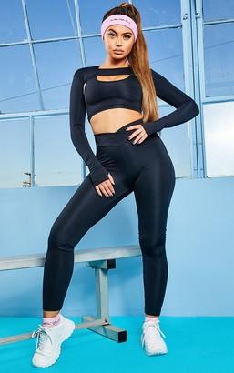 ASA Trad Black V Front Gym Leggings
