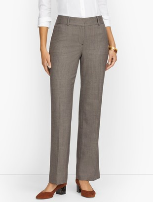 Talbots Newport Pants - Houndstooth - Curvy Fit