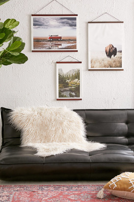 Urban Outfitters Wooden Print Dowel Hanger