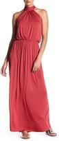 Clayton Evelyn Halter Maxi Dress
