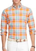 Polo Ralph Lauren Plaid Oxford Classic Fit Button Down Shirt