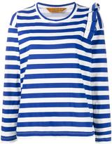 Golden Goose Deluxe Brand striped longsleeved T-shirt - women - Cotton - S