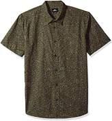 O'Neill Men's Modern Fit Cotton Short Sleeve Woven Shirt