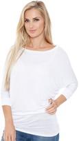 Women's White Mark Dolman Tunic
