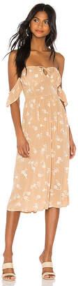 Amuse Society Regency Midi Dress