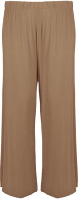Candid Styles Women Wide Leg Palazzo Pants Ladies Lounge Pants Baggy Flared Trouser 8-26 S/M 8-10