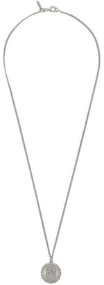 Emanuele Bicocchi Silver Large Coin Necklace