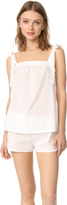 Three J NYC Sadie Top Tie Tank & Shorts