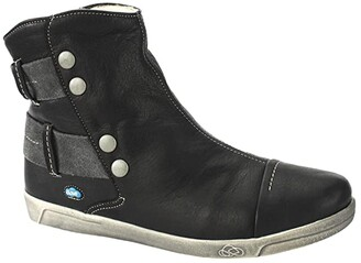 CLOUD Aline Boot Wool Lining (Black) Women's Shoes