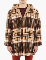 Cmmn Swdn Checked Reversible River Duffle Coat