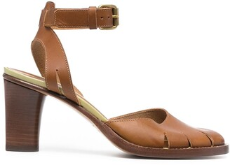 Michel Vivien Valley mid-heel sandals