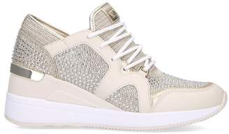 MICHAEL Michael Kors Liv Wedge Sneakers 90