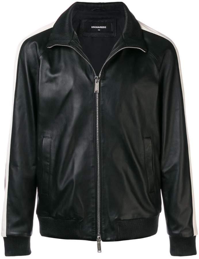 DSQUARED2 classic zipped longsleeved jacket