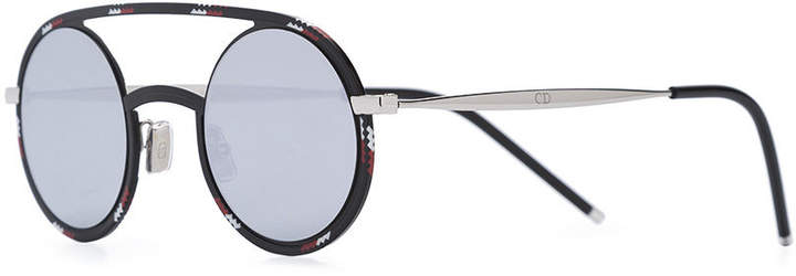 Christian Dior 'synthesis 01' rounded lens sunglasses